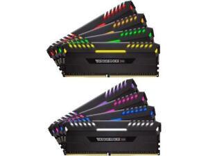 CORSAIR Vengeance RGB 128GB (8 x 16GB) 288-Pin DDR4 SDRAM DDR4 3800 (PC4 30400)