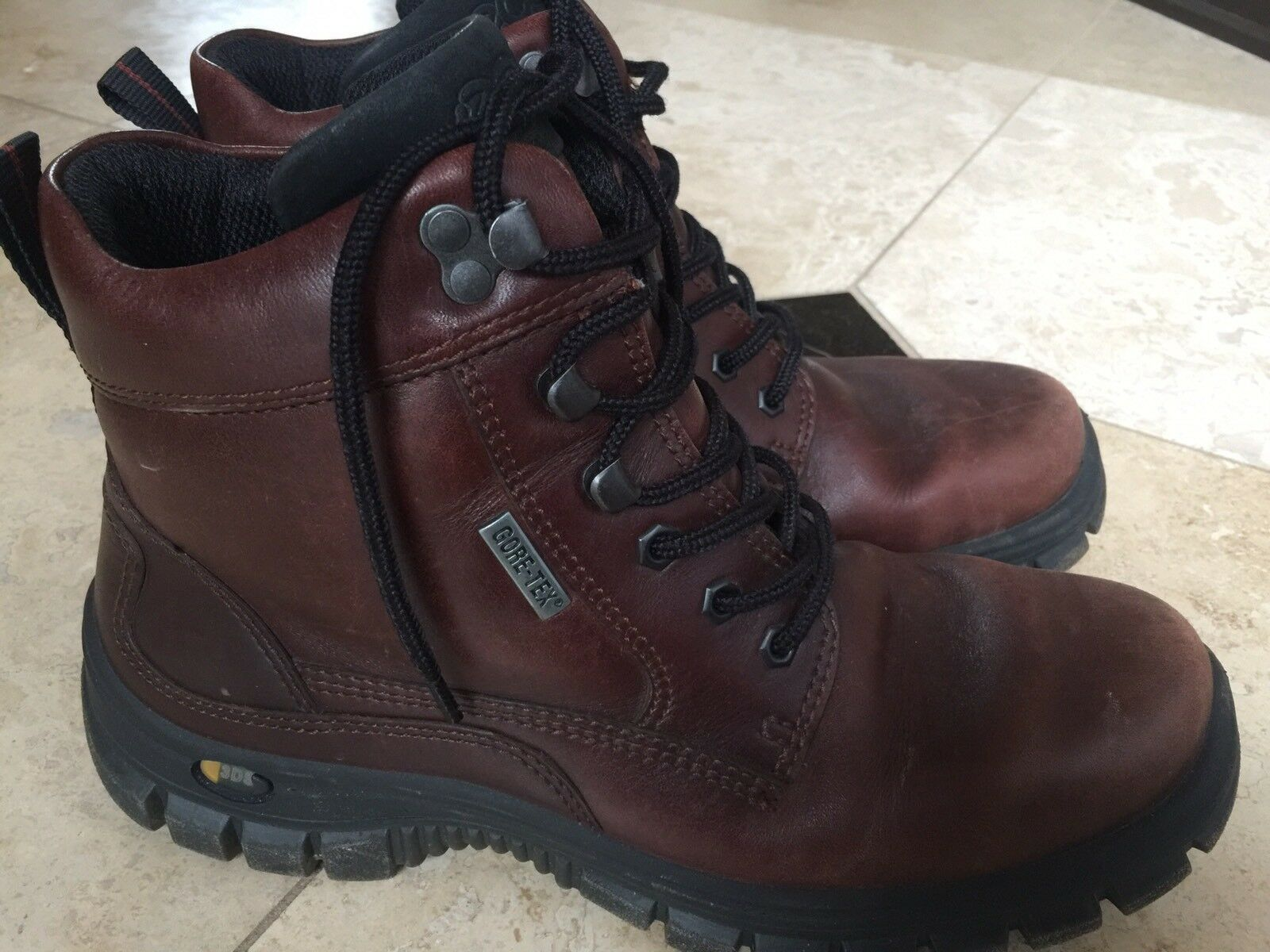 ECCO ECCO ECCO Women's Gora GTX Gore tex Hiking Boot Size 41 10 - 10.5 Brown 433660
