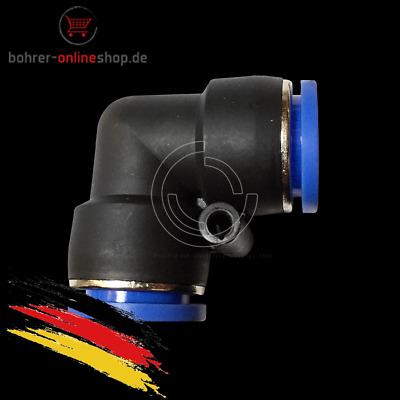 Ø 10mm Pneumatik Druckluft Druckluft 90° Winkelverbinder MPUL