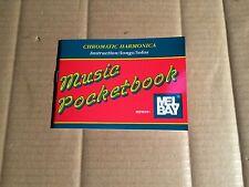 CHROMATIC HARMONICA-Instruction/canzoni/Solos-Music PocketBook-Mel Bay