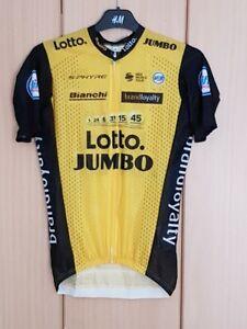 "Original Shimano Lotto Jumbo 2018 Maillot Court Bras Mesh ""steven Kruijswijk"" (s)-afficher Le Titre D'origine"