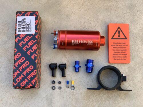 Fuel Flow Pro 400LPH Universal Inline Fuel Pump E85 COMPATIBLE, rpl Bosch 044