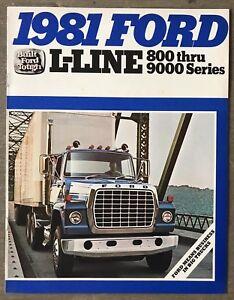 1981-Ford-L-Line-800-9000-Series-original-Canadian-sales-brochure