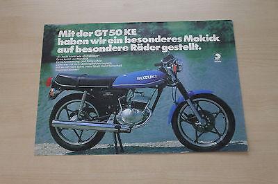 Objective 166482 Manuals & Literature Suzuki Gt 50 Ke Prospekt 197? Ebay Motors