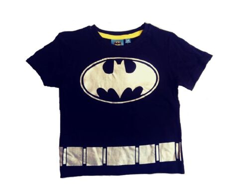 Boys T Shirts Batman Gold Silver Character Spring Summer Wear Size 2 3 4 5 6 7 8