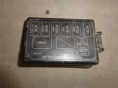 Engine Fuse Box Cover Ford Escort Sport SE 97 98 99 | eBayeBay