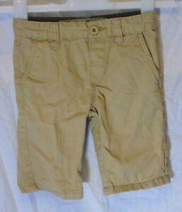 Ragazzi-Primark-Beige-Chino-Denim-Vita-Regolabile-SMART-Pantaloncini-Eta-4-5-anni