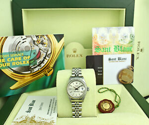 ROLEX-Ladies-Stainless-Steel-Date-Silver-Stick-Dial-79240-SANT-BLANC