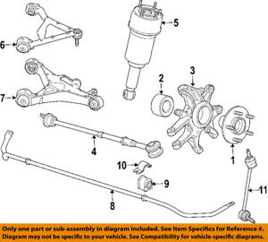 jaguar oem 06 09 xj8 rear suspension air spring c2c41343 ebay rh ebay com  jaguar xj6 rear suspension parts