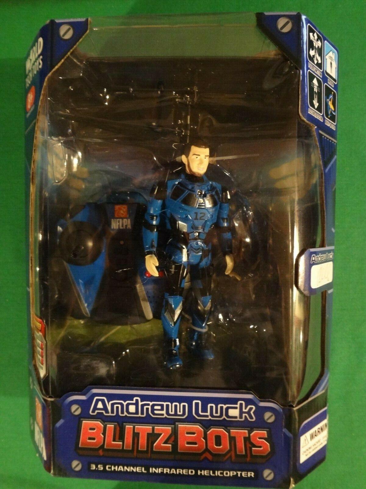 2015 World Tech Toys Andrew Luck Blitz bots Drone