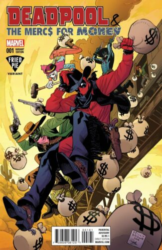 DEADPOOL /& THE MERCS FOR MONEY 1 BAM BOOKS A MILLION FRIED PIE VARIANT SOLD OUT