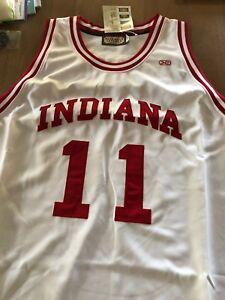 online store 28e4f 92dfa Details about NOS Isiah Thomas Indiana University 5XL #11 Jersey - Hardwood  Legends Basketball