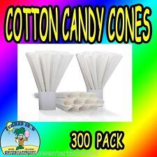 Cotton Candy Cones Plain Gold Medal 300 pcs concession fair carnival supply