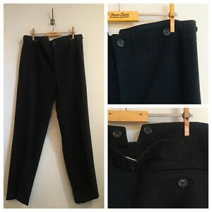 Vintage-Wool-Cinch-Fishtail-Back-Trousers-W36-Kevin-Rowland-Dexys-Memorabilia