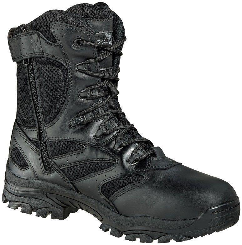 Thgoldgood 834-6219 The Deuce 8  Waterproof Side Zip Uniform Non-Metallic Boot