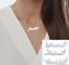 miniatura 1 - Collana con Nome da Donna in Acciaio Inossidabile Visto su Instagram Influencer