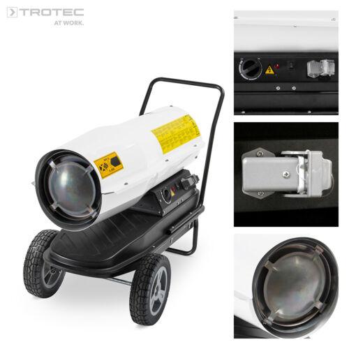 TROTEC IDE 30 D Calefactor directo estufa movil de gasoil, cañon de calor 30 kW