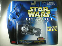 Starwars Star Wars - Episode 1 - Gian Speeder - Micro Machines - Die Cast Metal - Galoob - Mint - Limited Edi... Toys