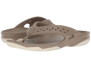 Khaki 26P Flop Men 204961 Swiftwater Flip Deck Stucco Crocs Sandal lFJ3TK1c