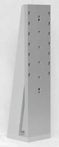"""Anodized Aluminum 21 x 5 x 5/"""" Approx Large Right Angle Bracket"""