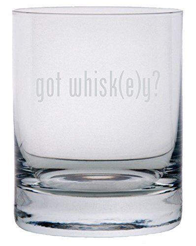 got Themed Etched 11oz Stolzle New York Crystal Rocks Glass