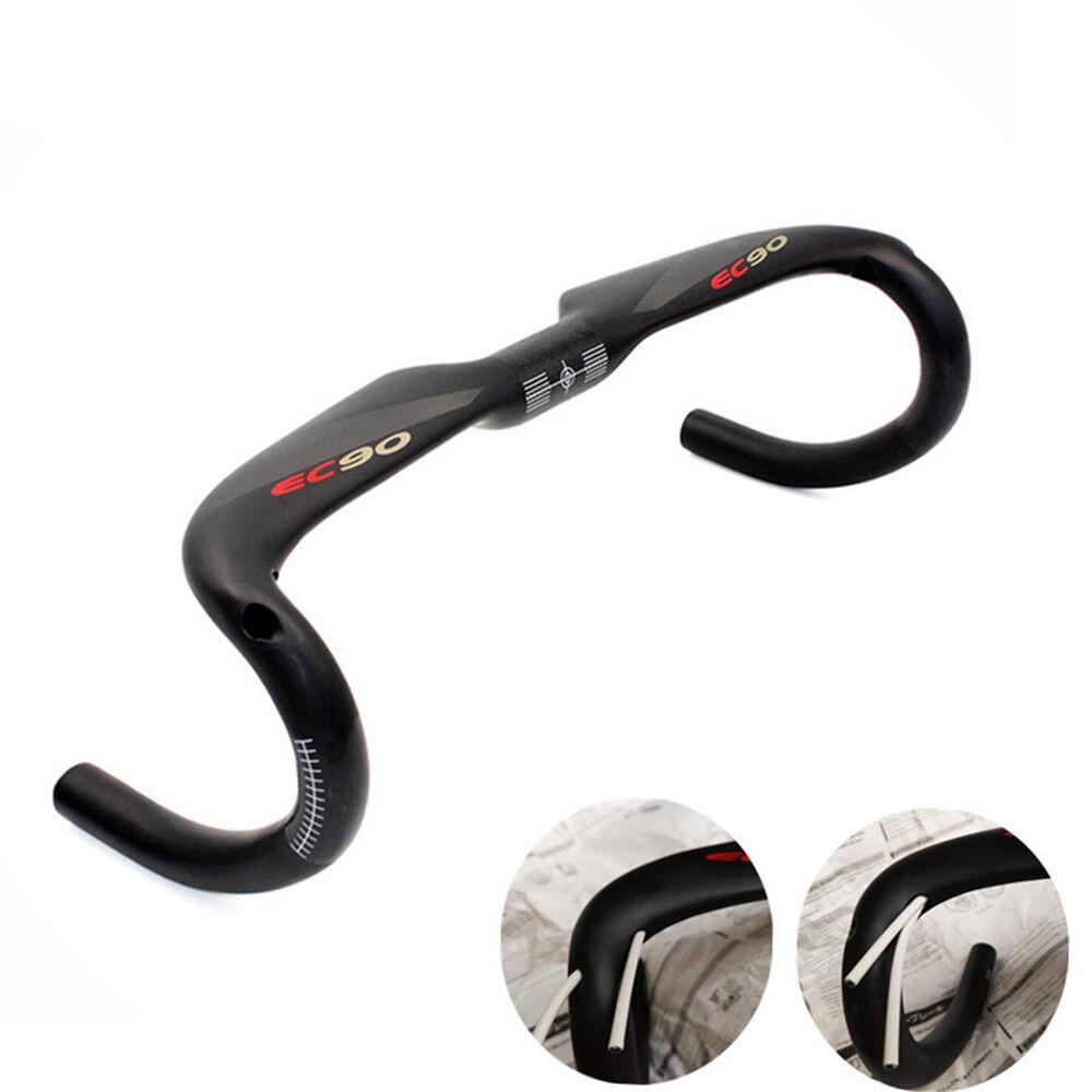 EC90 Carbon Road Bicycle Handlebar 31.8 Full Carbon Fiber Bike  Drop Bar  leisure