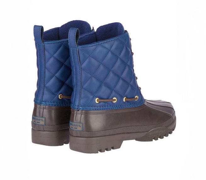 Paul Paul Paul Sperry Gosling Boots,Navy Brown, Sz 8 65ad90
