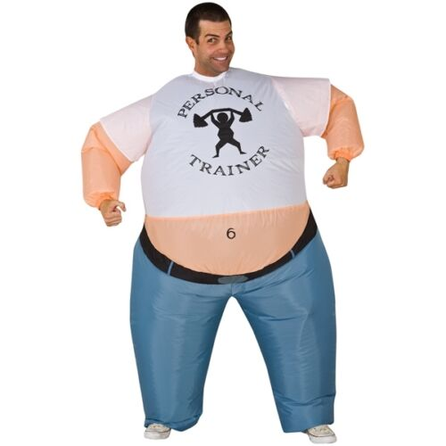 strong man Inflatable Costume Suit Inflatable Personal Trainer costume halloween