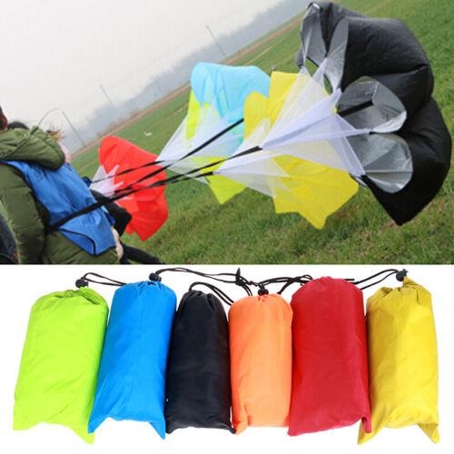 1pc Speed Training Drills Resistance Parachute Running Drag Sprint Chute SportZH