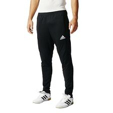 adidas BK0348 Men's Tiro 17 Training Pants Athletic Soccer Black Slim Joggers