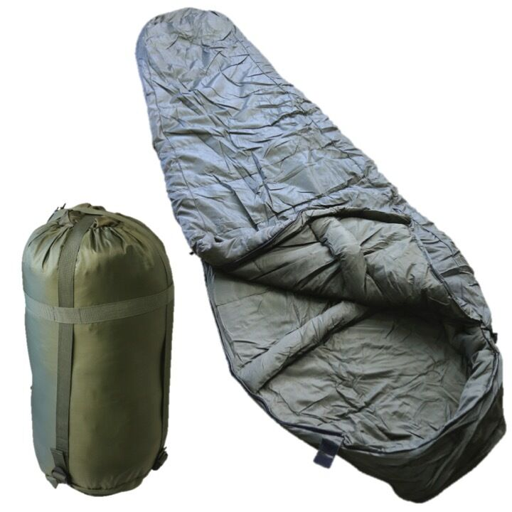 ARMY CADET SLEEPING borsa SYSTEM 7 DEGREES CAMPNG FIELD EXERCISE WATER RESISTANT