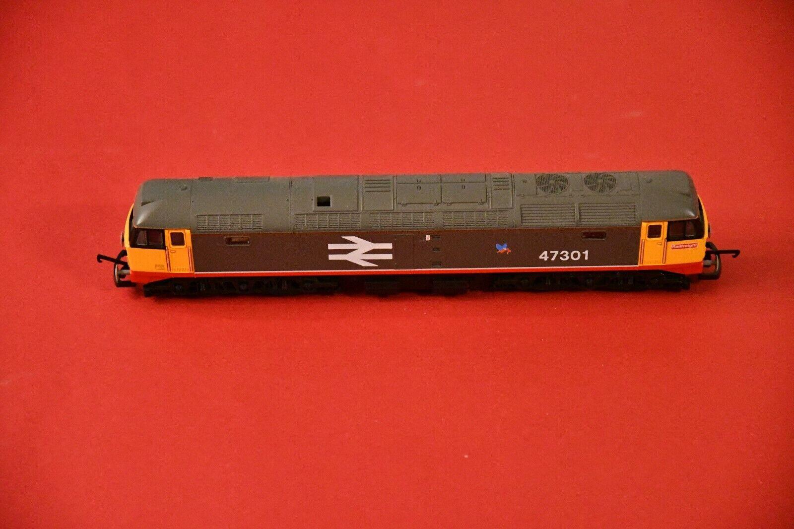 Lima Lok H0 - No 136 -  L205039-LN-06 Class 47 47301 in Railfreight rot Stripe