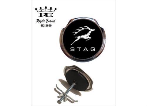 Royale Classic Car Grill Badge TRIUMPH STAG EMBLEM Fittings B2.2869