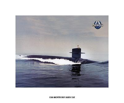 USN Navy -Boomer USS NEBRASKA SSBN 739 US Naval submarine