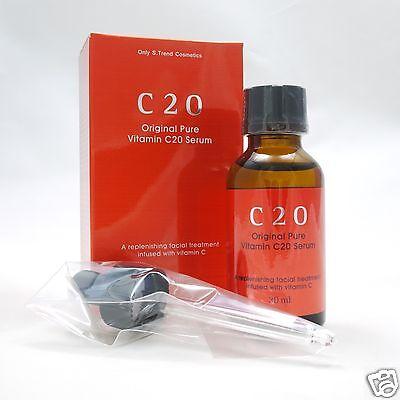 [OST] C20 Original Pure Vitamin C20 Serum 30ml Whitening Pores Blackheads