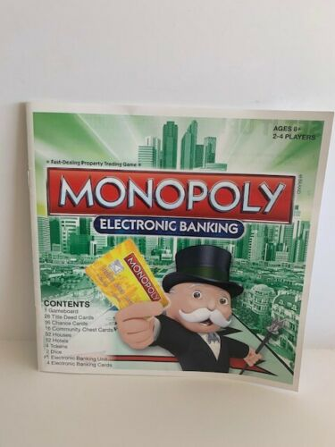 U-pick 2013 Monopoly electronic banking replacement parts pieces