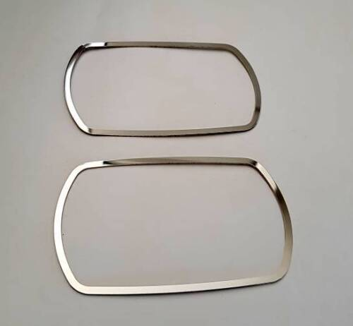 D Opel Corsa D Chrom Rahmen für Schalter Fensterheber Edelstahl poliert
