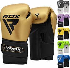 RDX Guantes de boxeo Niño Muay Thai Entrenamiento Junior Kick Boxing Saco...
