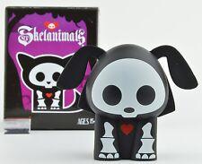 Skelanimals Series 3 GITD Vinyl 3-Inch Mini-Figure - Dax The Dog