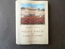 Ville e Parchi del Lago Di Como Bascapè 1981 Borgovico Torno Bellagio Varenna