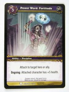 WoW-World-of-Warcraft-Cards-POWER-WORD-FORTITUDE-83-361-played