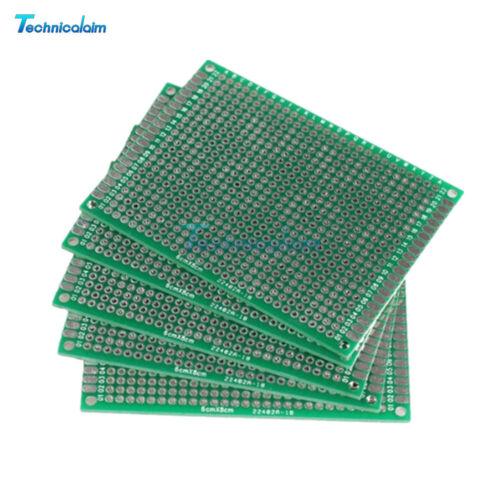 10PCS Double side 6cmx8cm Protoboard Circuit Universal DIY Prototype PCB Board