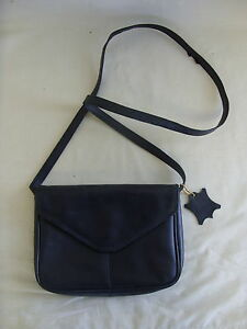 aedc61df5d Image is loading Ladies-Messenger-Bag-Debenhams-black-leather-small-8-