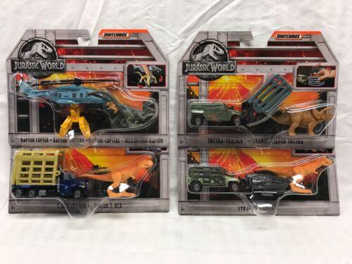 Rex New Jurassique 887961585254 tricera Monde Matchbox t Raptor Du tyranno 8PaxFnq0A