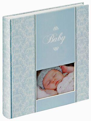 Daydreamer Baby Photo Album With Window White Pages Bookbound Acid Free Ebay
