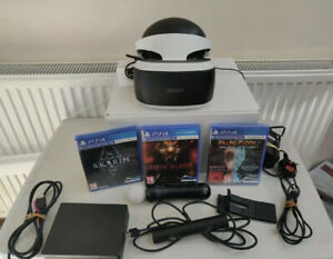 Sony-Playstation-4-PSVR-Headset-V2-With-3-games-and-move-motion-controller