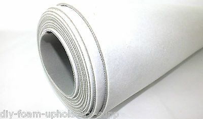"Ideal for car trimming /& upholstery use. 54/"" wide 10mtr roll 2-3mm scrim foam"