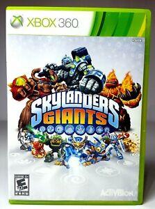 XBOX 360 SKYLANDERS GIANTS Pre-Owned Video Game 2012 Microsoft