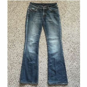BEBE-Medium-Wash-Bootcut-Jeans-Size-28