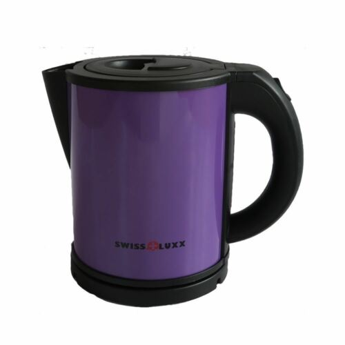 Swiss Luxx Low Wattage Cordless 1L Colourways Kettle Camping Caravan Motorhome